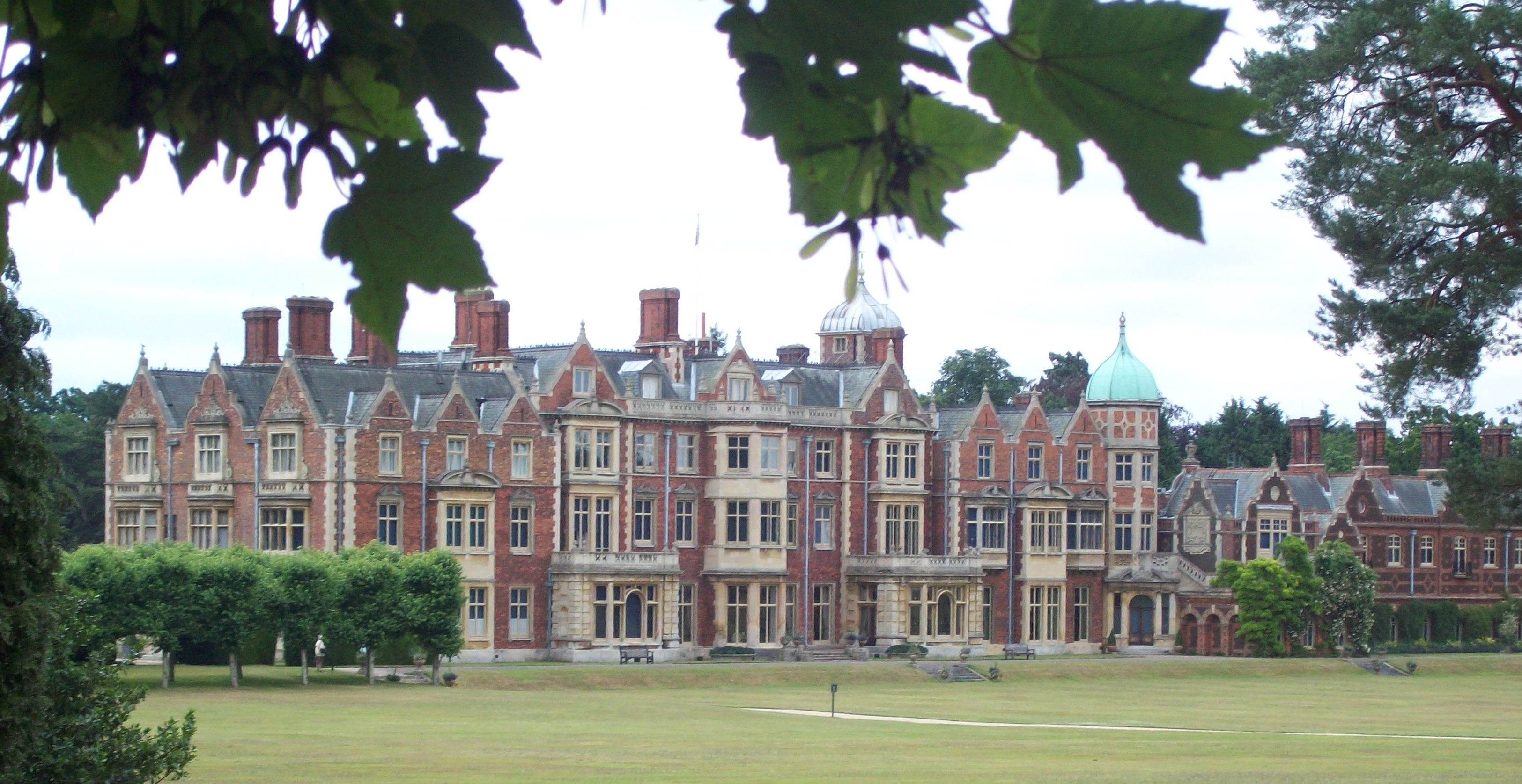 Sandringham house the home of her majesty the queen