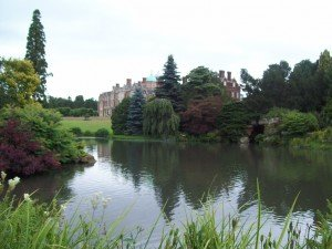 Sandringham House Across the Lake