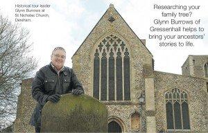 Glynn Burrows at Dereham Church
