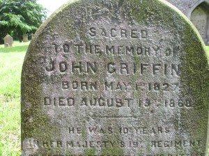 Norfolk grave Ancestral Tours