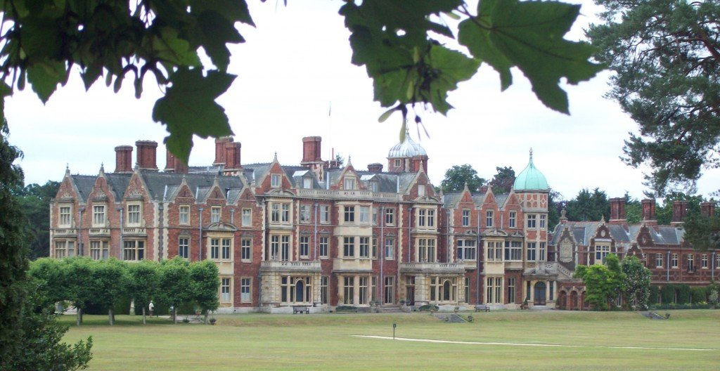 Sandringham, The Queen's Home in Norfolk.